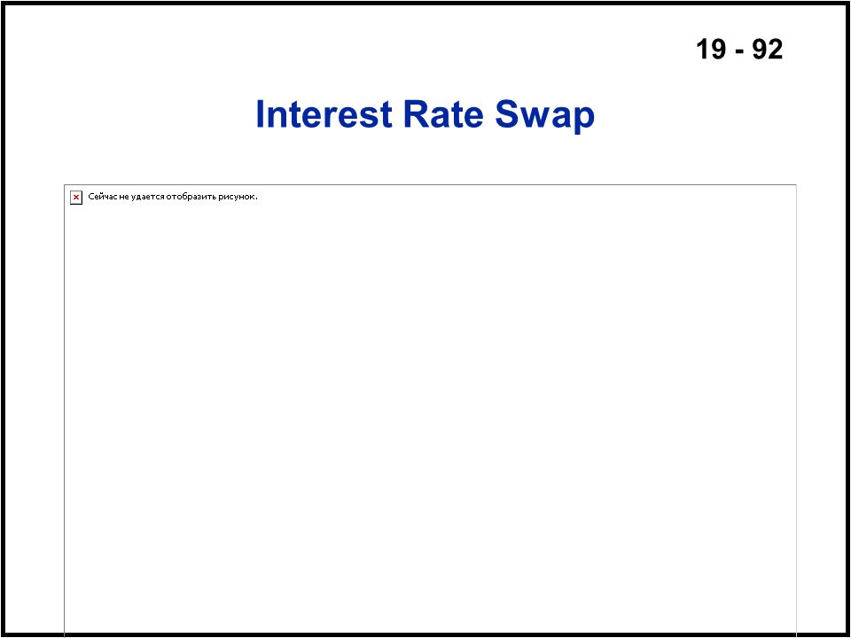 19 - 92 Interest Rate Swap