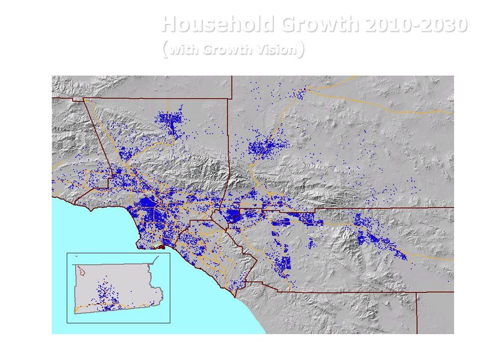 Household Growth 2010-2030 ( with Growth Vision )