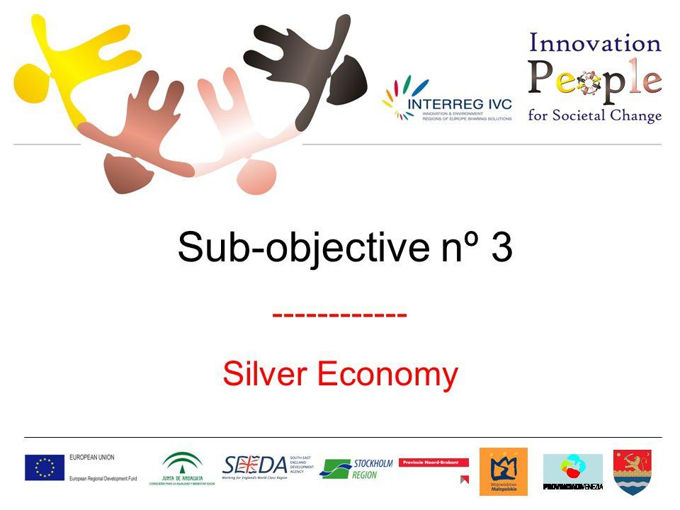 Sub-objective nº 3 ------------ Silver Economy