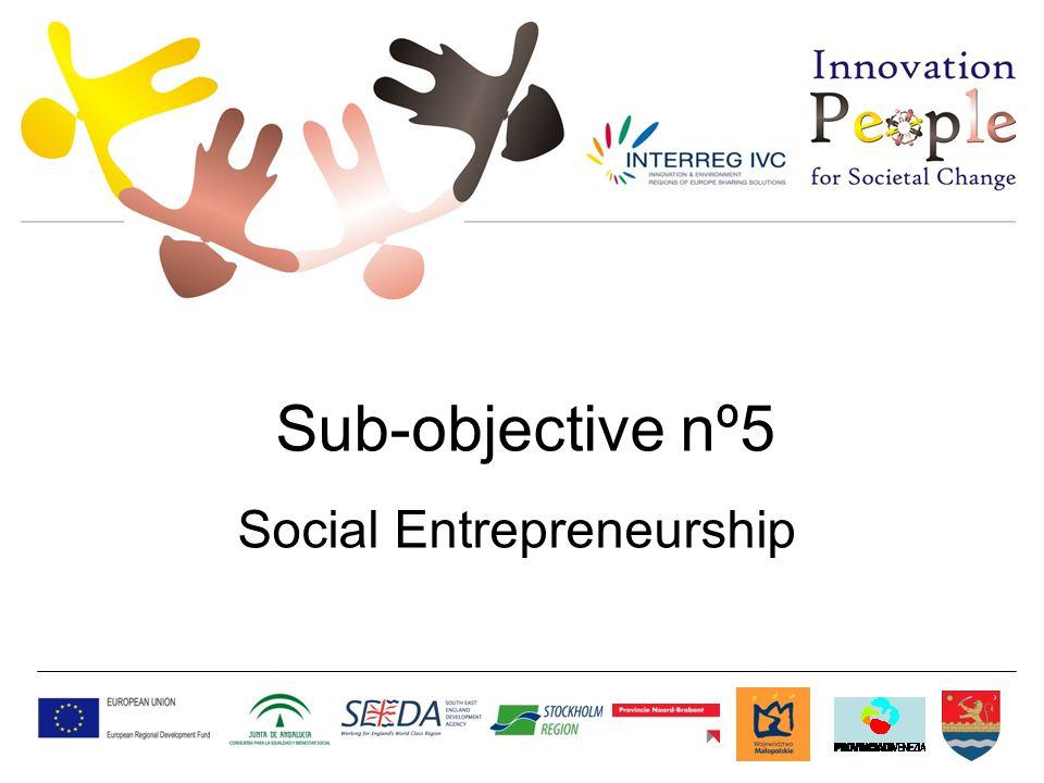 Sub-objective nº5 Social Entrepreneurship