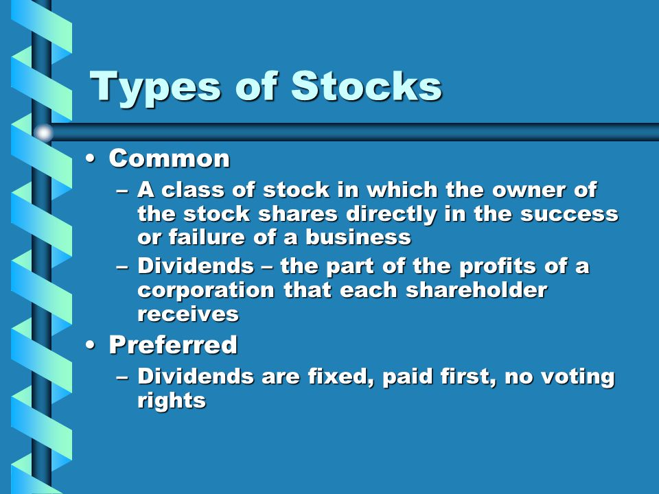 Chapter 12 - Investing in Stocks