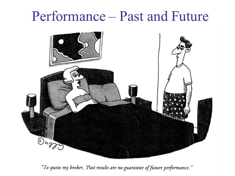 Investments 626 Performance – Past and Future