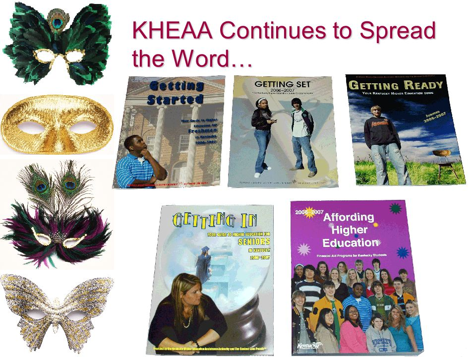 KHEAA Continues to Spread the Word…