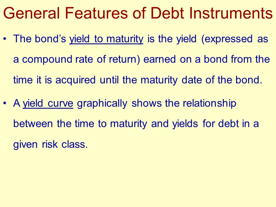The yield to call is the yield earned on a callable bond.