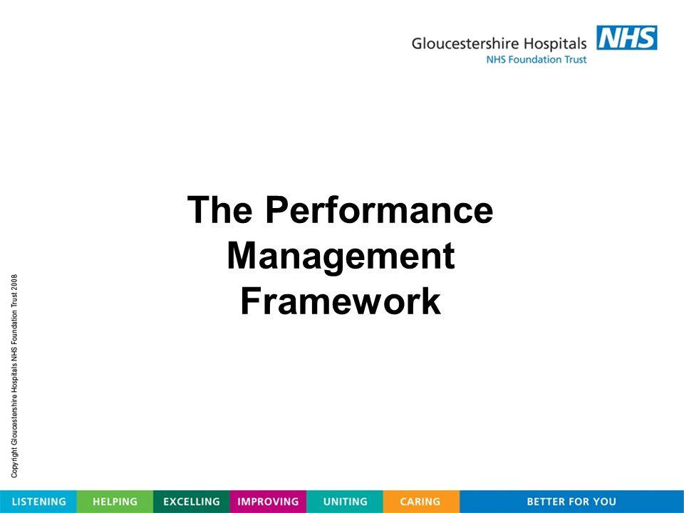The Performance Management Framework