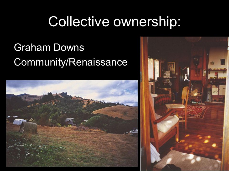Collective ownership: Graham Downs Community/Renaissance