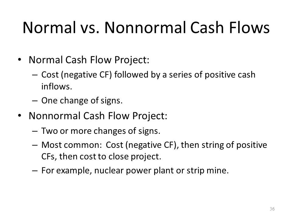 36 Normal vs.