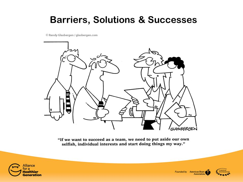 Barriers, Solutions & Successes