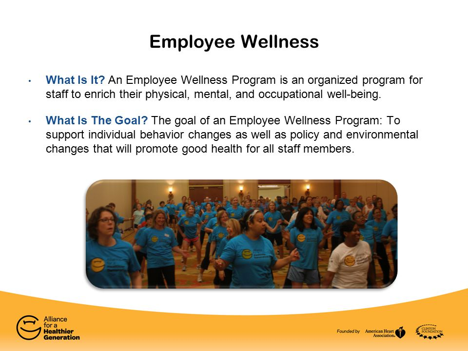Employee Wellness What Is It.