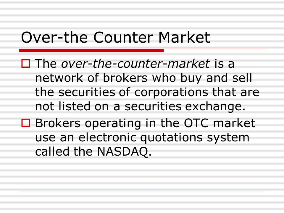 Securities Exchanges  A securities exchange is a marketplace where brokers who are representing investors meet to buy and sell securities. The NYSE i