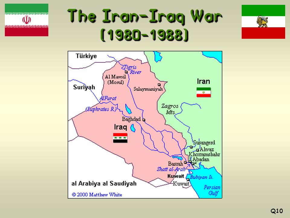 The Iran-Iraq War (1980-1988) Q10