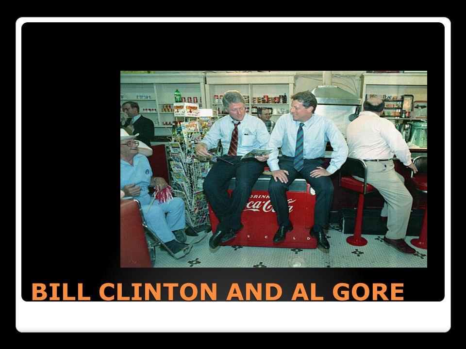 BILL CLINTON AND AL GORE