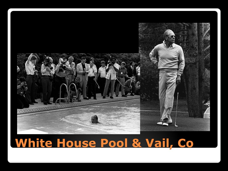 White House Pool & Vail, Co
