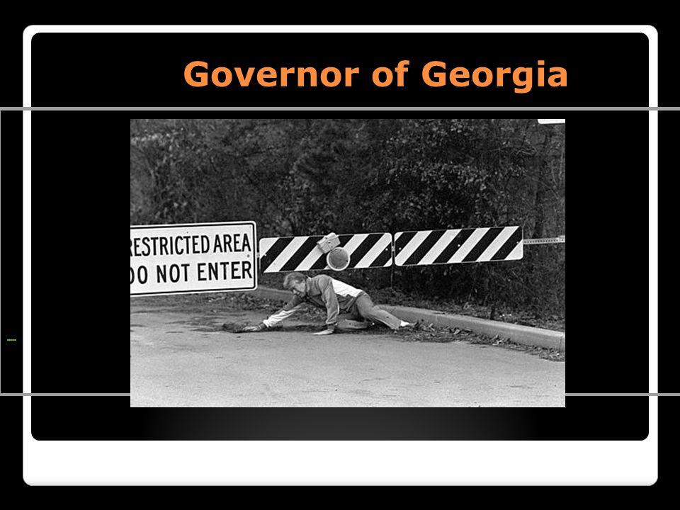 Governor of Georgia