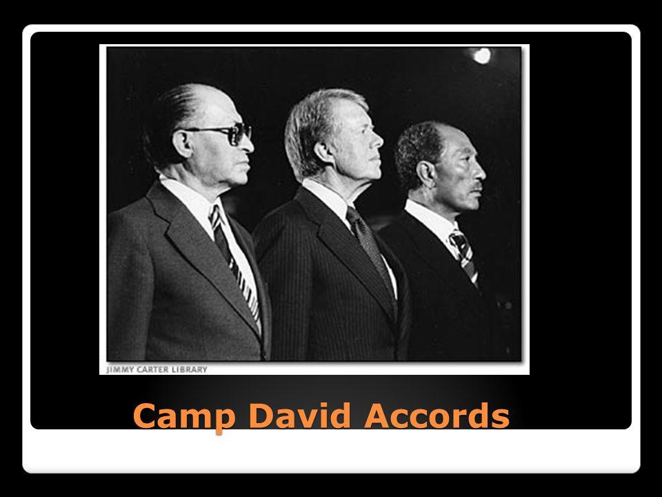 Camp David Accords Camp David Accords