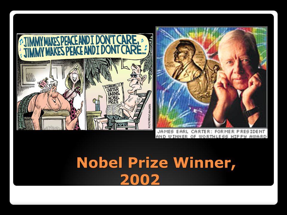 Nobel Prize Winner, 2002