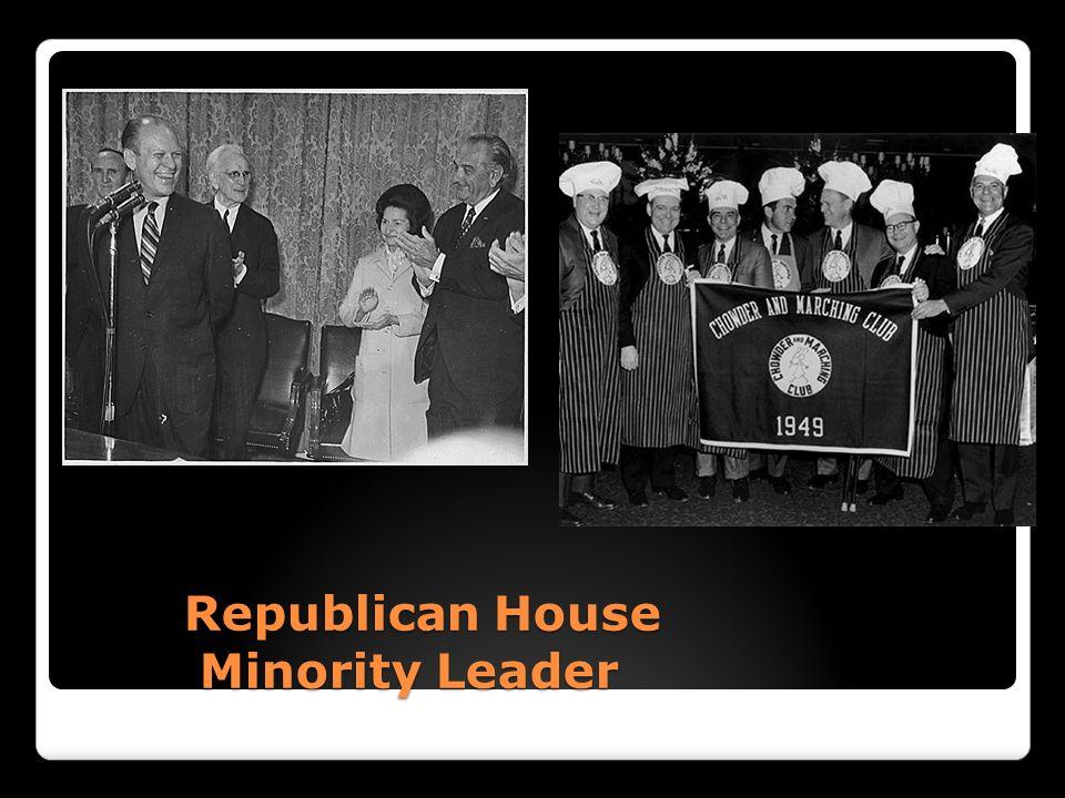 Republican House Minority Leader Republican House Minority Leader