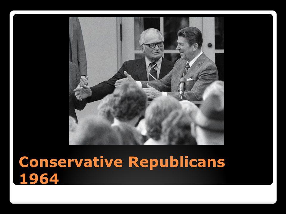 Conservative Republicans 1964