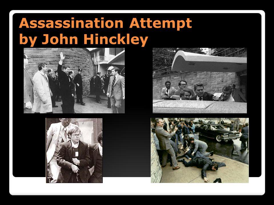 Assassination Attempt by John Hinckley