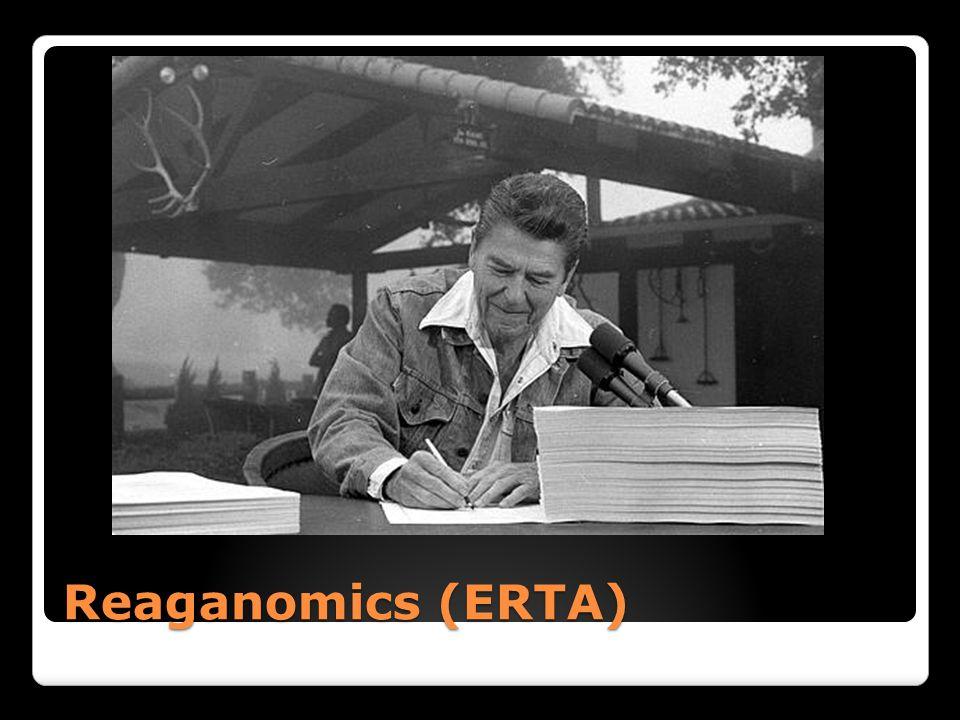 Reaganomics (ERTA)