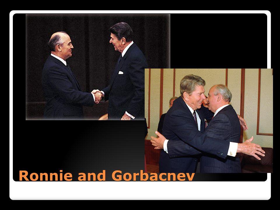 Ronnie and Gorbachev