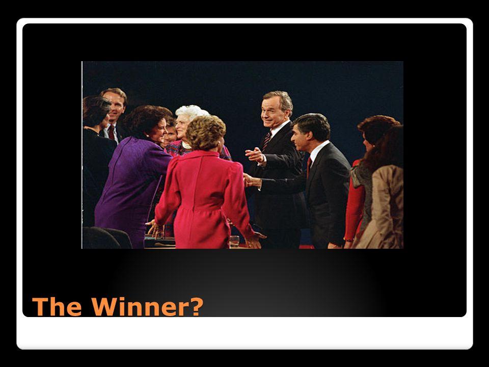 The Winner?