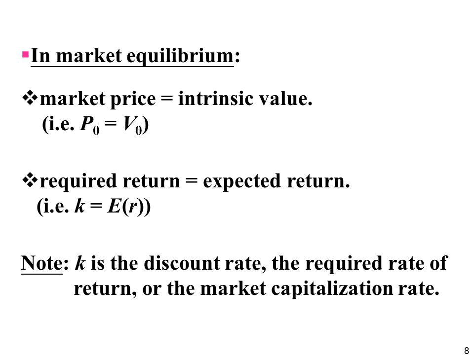 49  The first approach: Discount the free cash flow for the firm (FCFF) at the weighted average cost of capital (WACC) to obtain the value of the firm, and subtract the then-existing value of debt to find the value of equity.