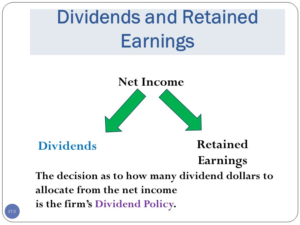 17-6 Cash Dividends Regular cash dividend – cash payments made directly to stockholders, usually each quarter Extra cash dividend – indication that the extra amount may not be repeated in the future