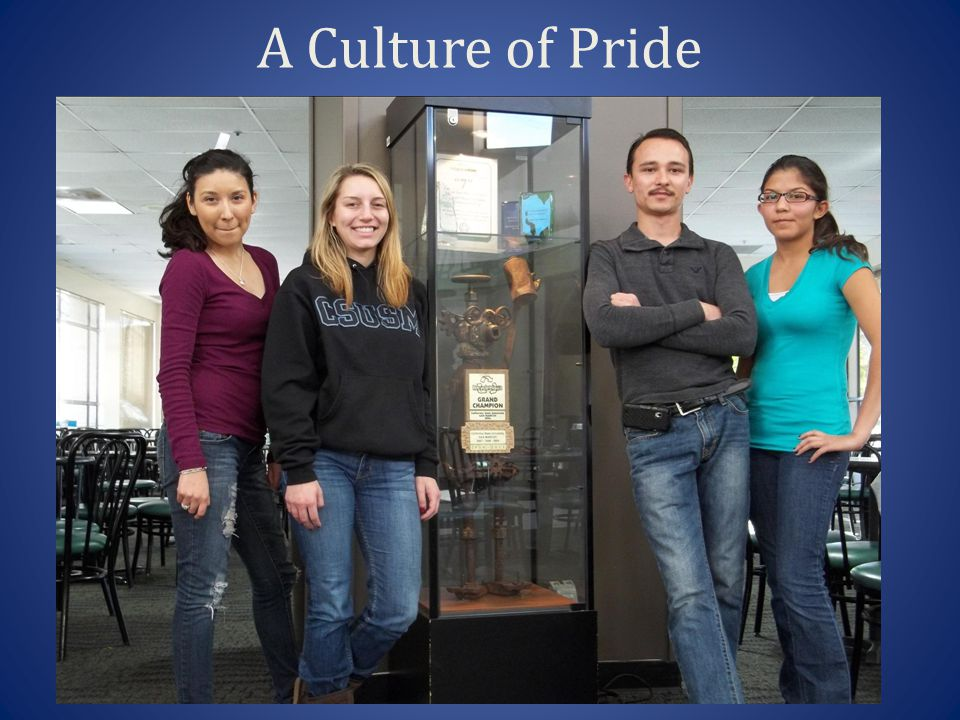 A Culture of Pride