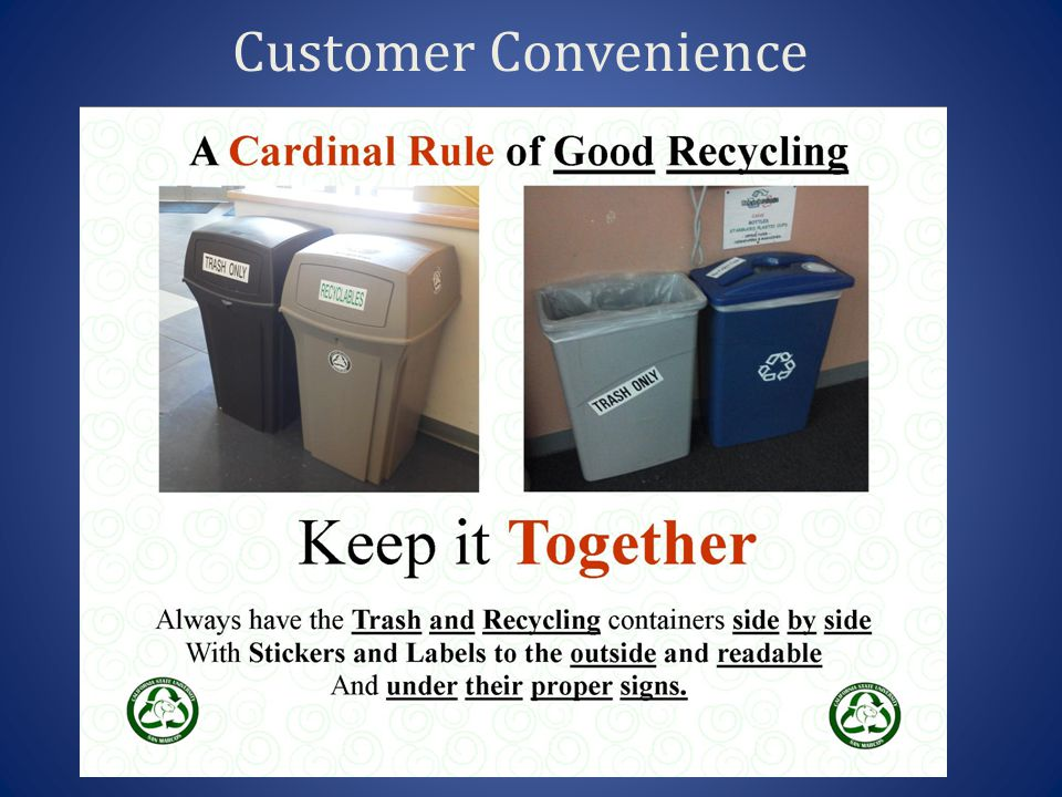 Customer Convenience