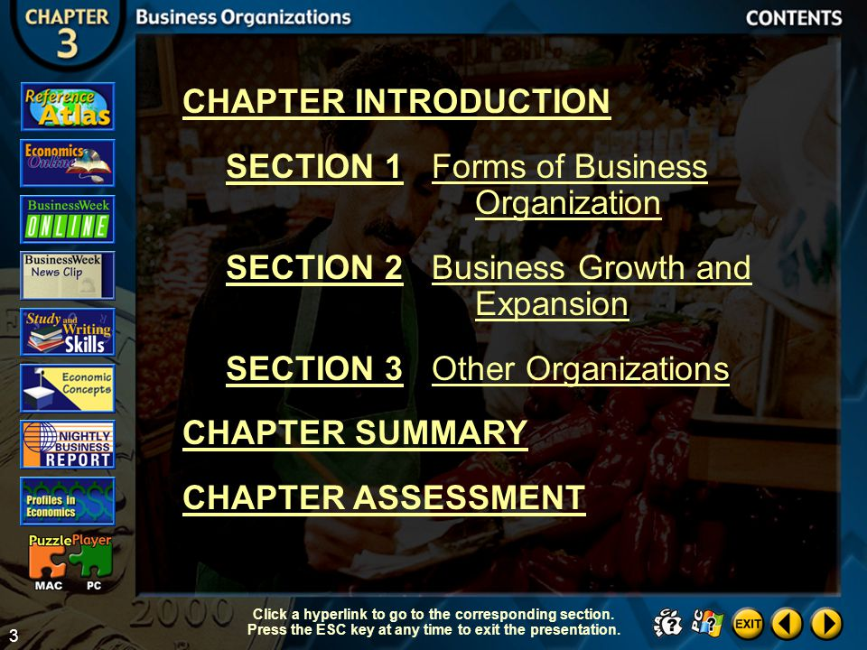 End of Chapter Summary Click the mouse button to return to the Contents slide.