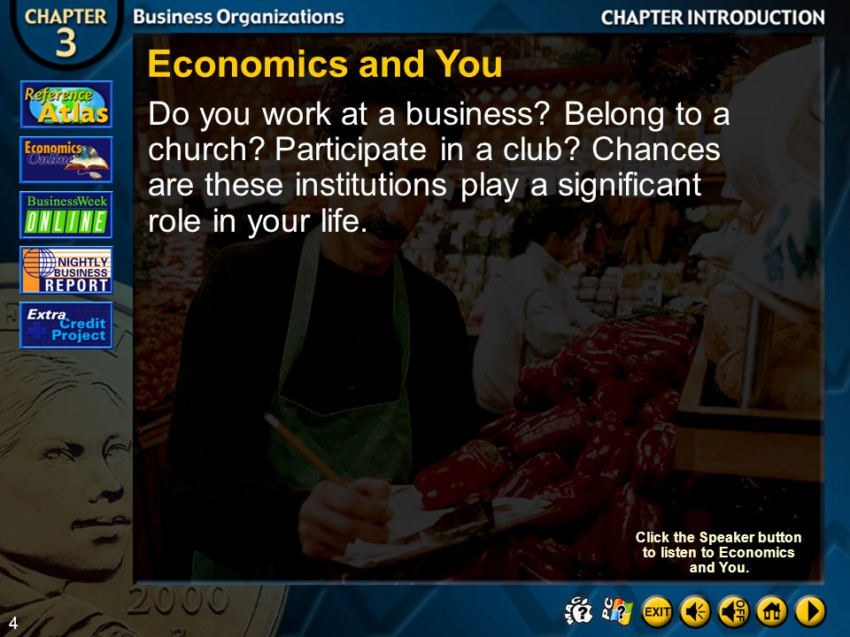 34 Section 1-Assessment 7 Discuss which business form you think is the most important for the American economy.