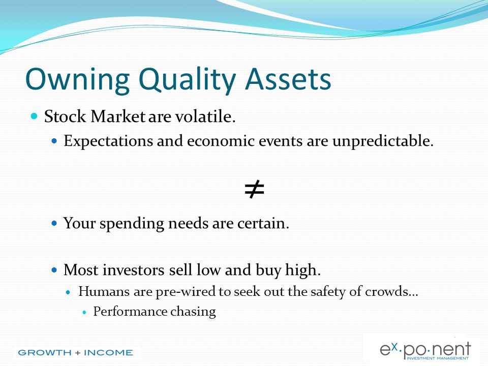 Step 2: Research Determine the fair market value: Based on historical valuation (ie: P/E ratios, BV ratios) In relation to the company itself In relation to the broad equity market (TSX, S/P 500,etc.) In relation to the price of money/interest rates Determine entry points: Based on fair market value research Technical analysis