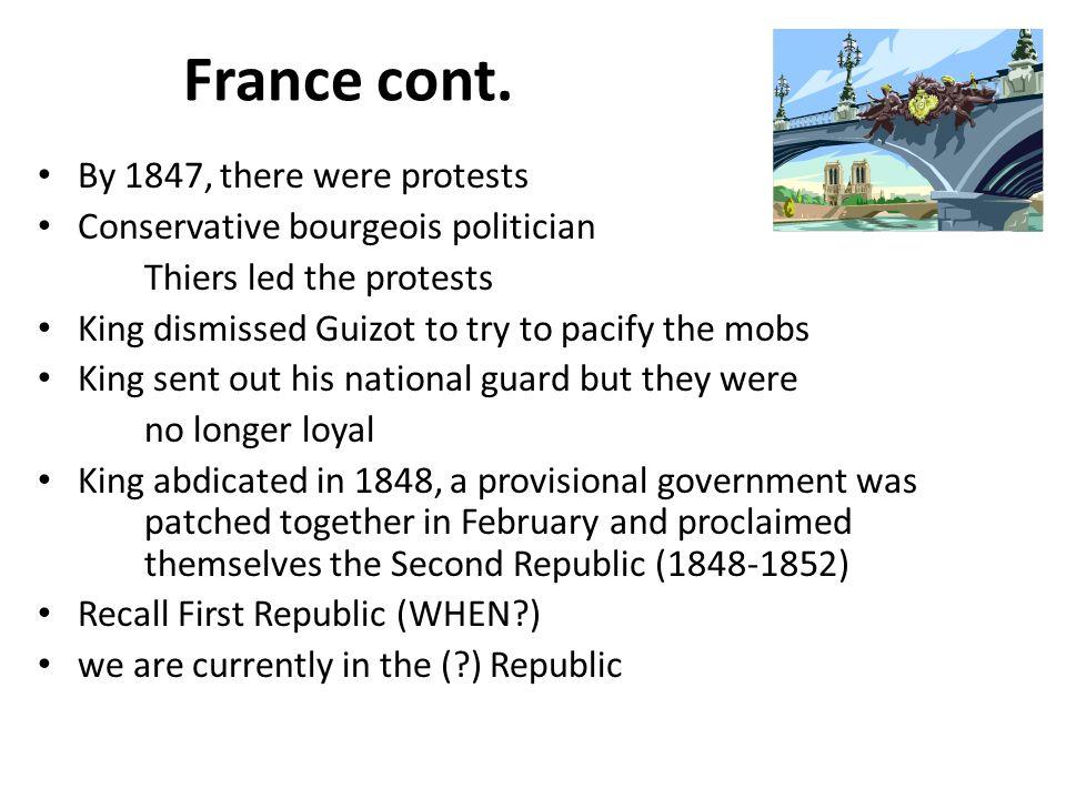 France cont.