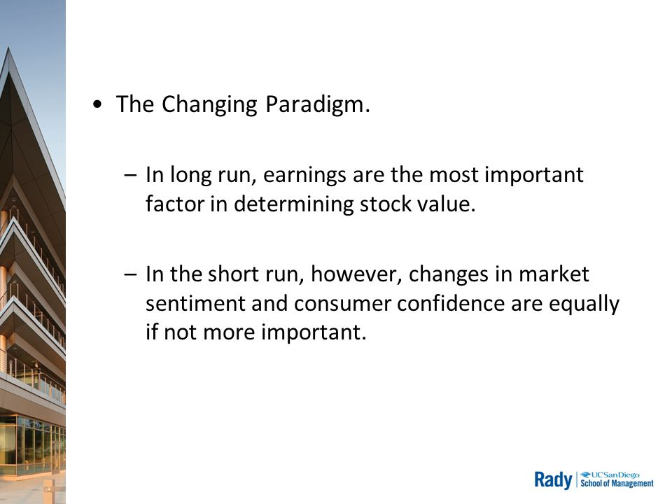 The Changing Paradigm.