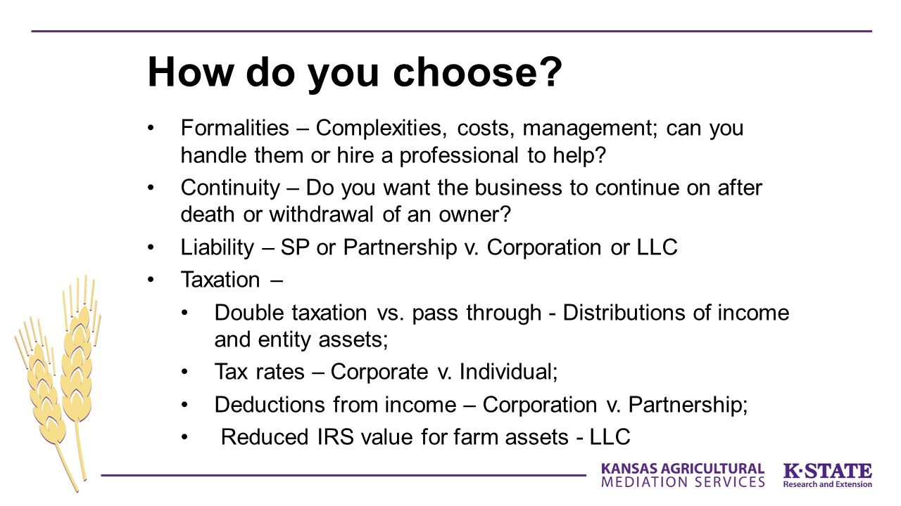 Formalities – Complexities, costs, management; can you handle them or hire a professional to help.
