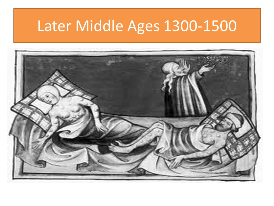Later Middle Ages 1300-1500