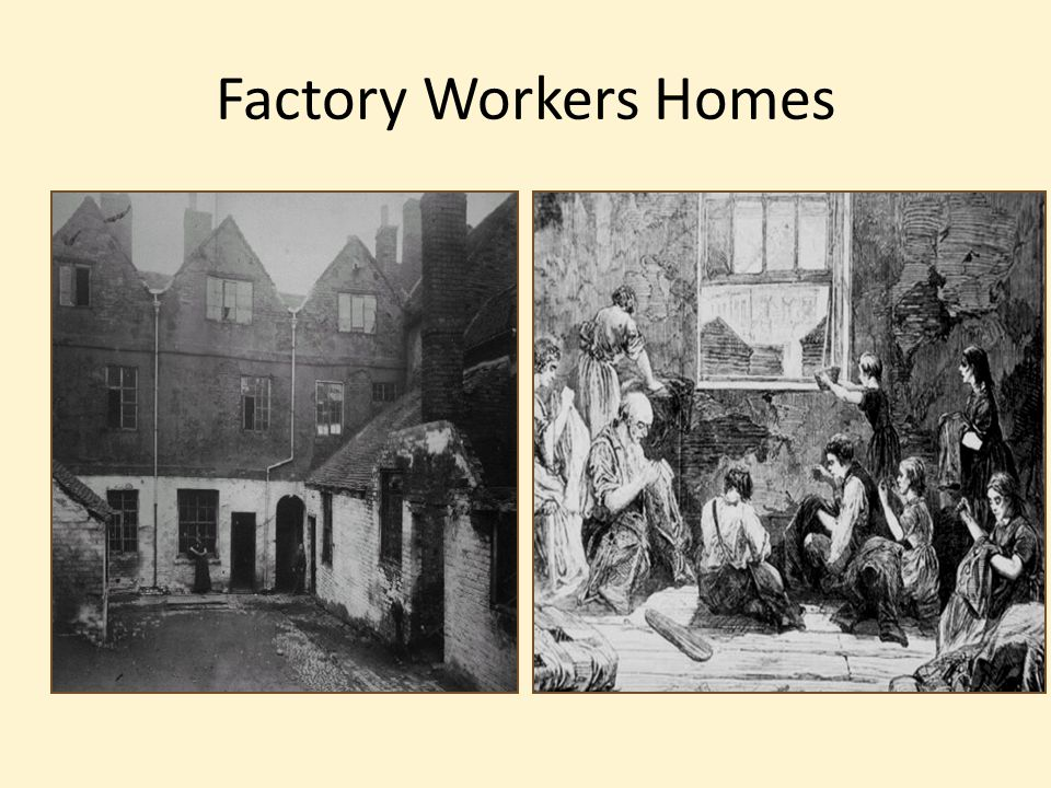 Factory Workers Homes