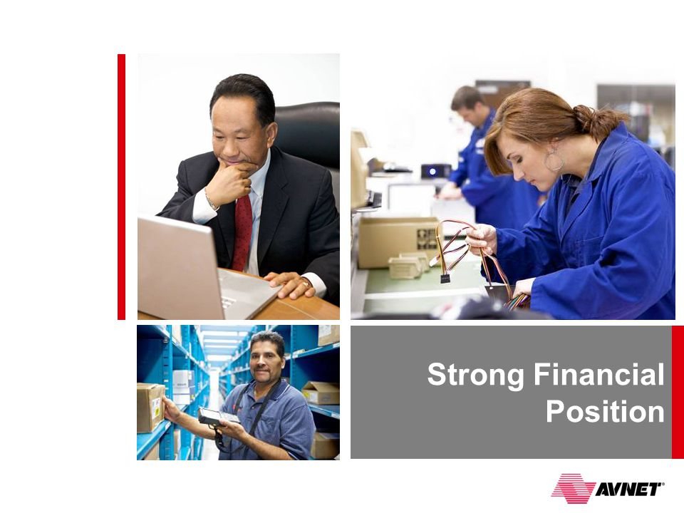 Strong Financial Position
