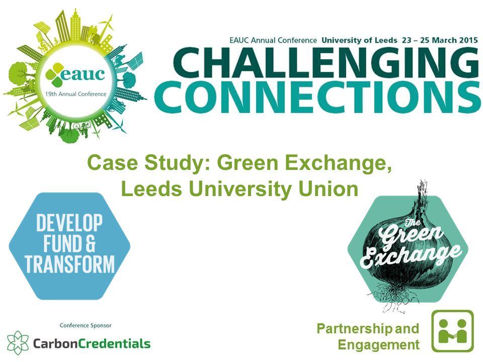 Case Study: Green Exchange, Leeds University Union