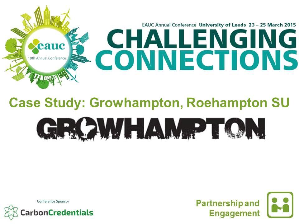 Case Study: Growhampton, Roehampton SU