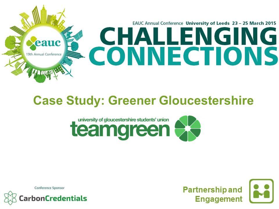 Case Study: Greener Gloucestershire