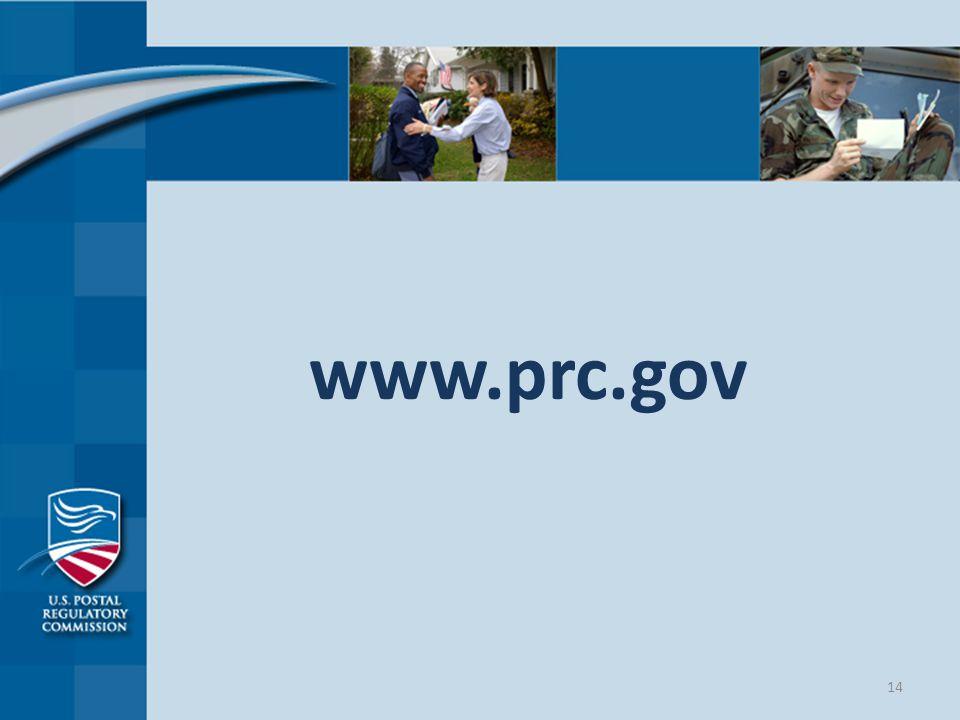 www.prc.gov 14