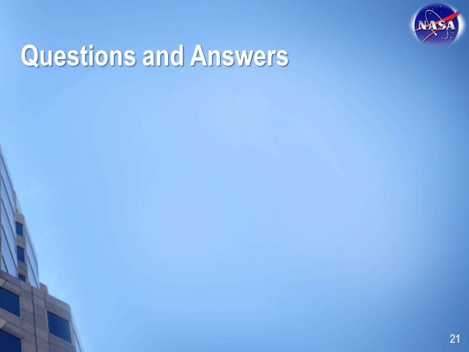 Questions and Answers 21