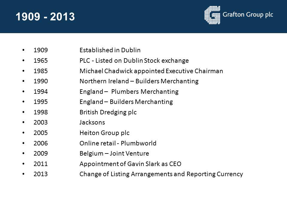 Irish Retail DIY 2012 market share Geographical reach DIY RetailingNo 1