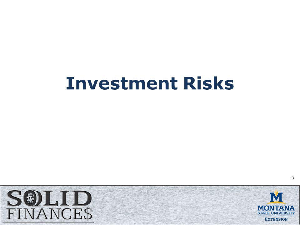 Investment Risks 3