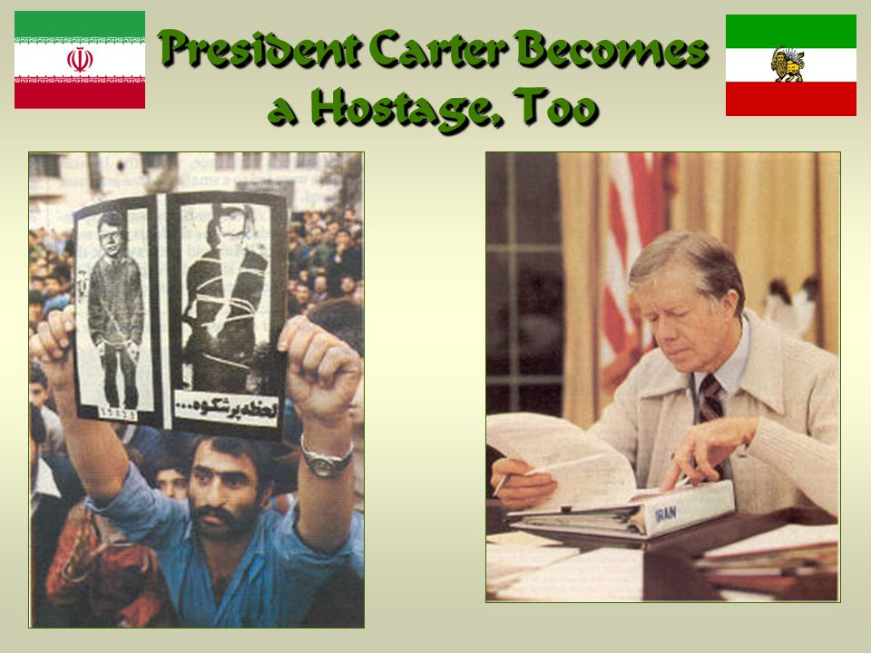 President Carter Becomes a Hostage, Too