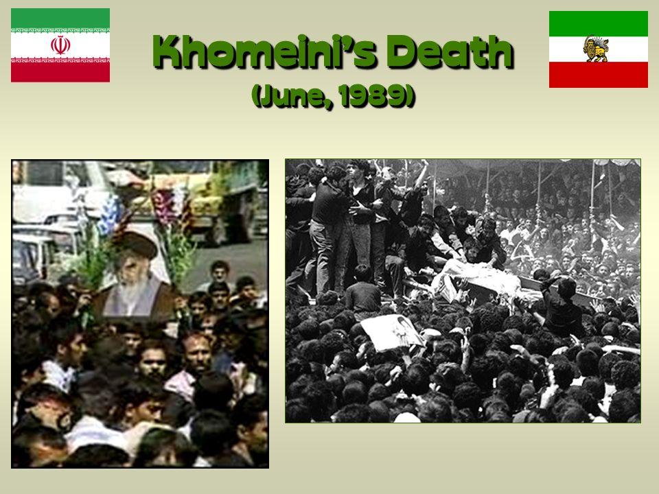 Khomeini's Death (June, 1989)