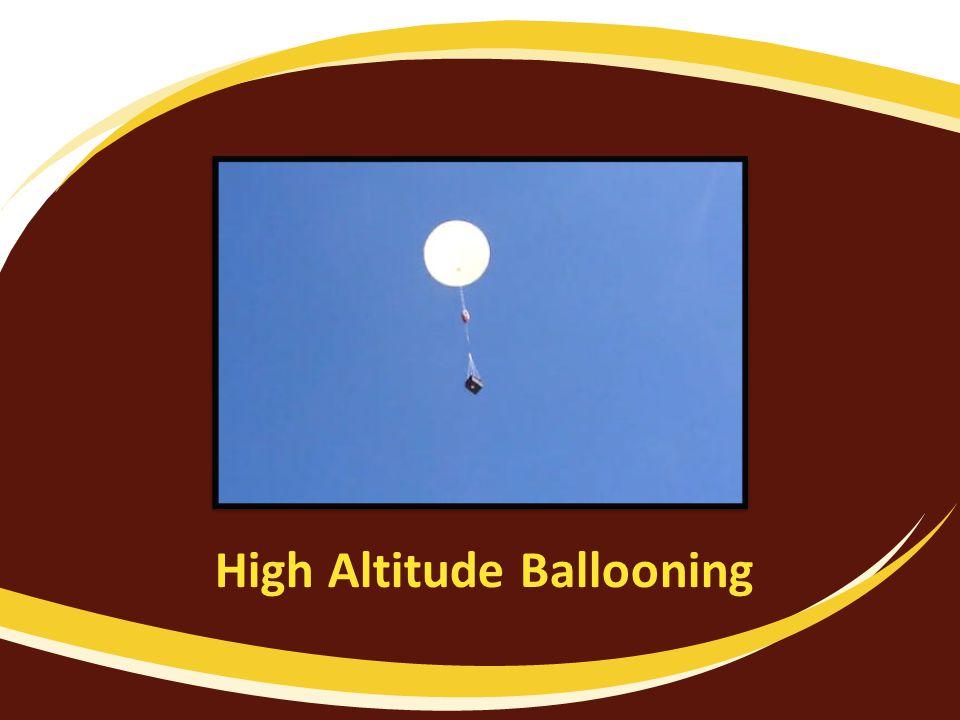 High Altitude Ballooning