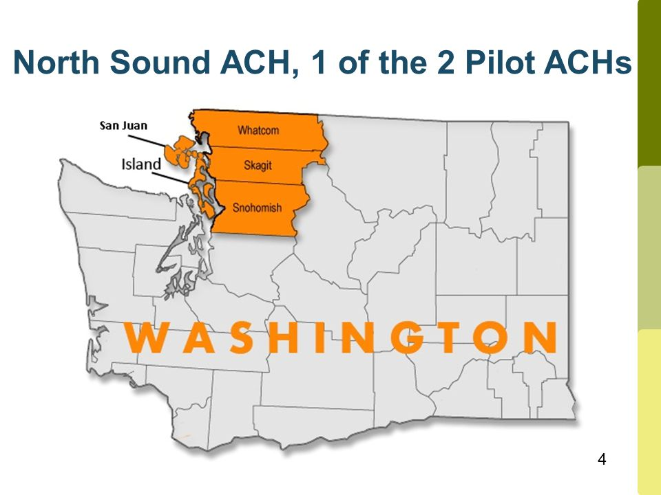 4 North Sound ACH, 1 of the 2 Pilot ACHs